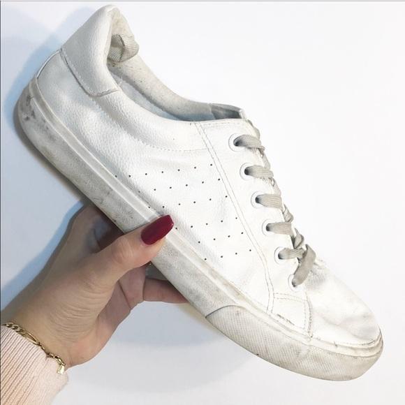 Primark Vegan Leather White Sneakers
